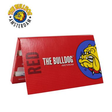 The Bulldog Red Double Window Regular Rolling Papers