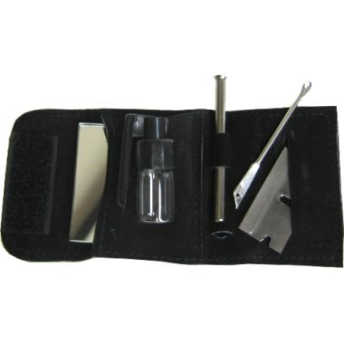 Mini Mirror Snuff Kit