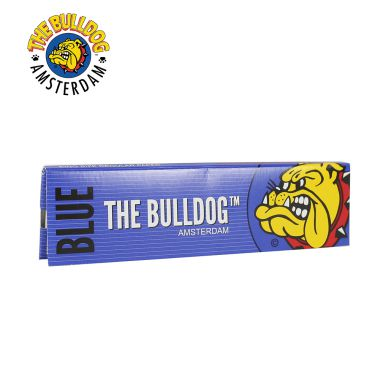 The Bulldog Blue Kingsize Regular Rolling Papers