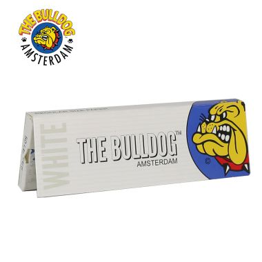 The Bulldog White Regular Size Rolling Papers