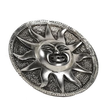 Sun Face Metal Incense Holder