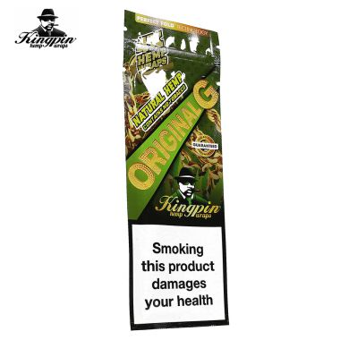 Kingpin Tobacco Free Wraps - Original G