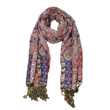 Paisley Patterned Pashmina