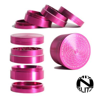 Mix 'N' Blitz 50mm Isotope Grinder - Pink