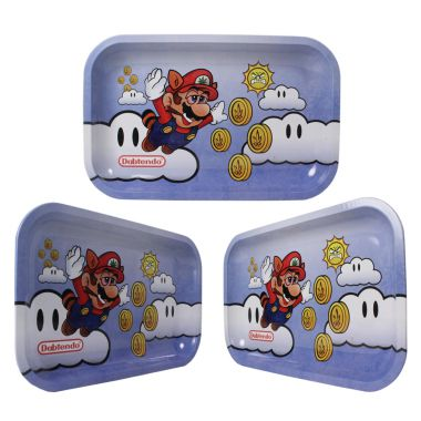 'Flying High' Aluminium Rolling Tray - Small