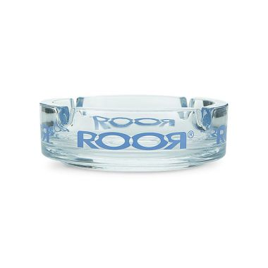 ROOR Glass Ashtray - Blue Logo