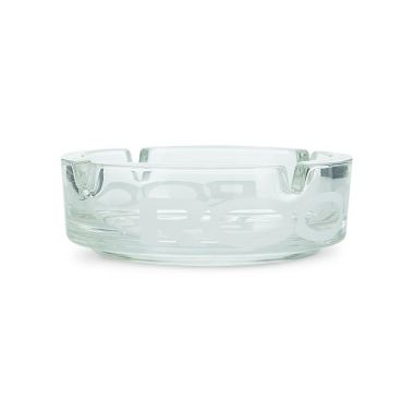 ROOR Glass Ashtray - White Logo