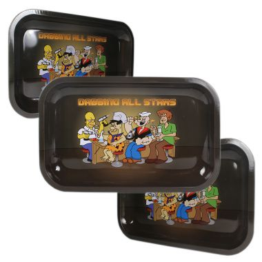 'Heavy Legends' Metal Rolling Tray - Small