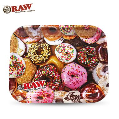 RAW Donut Metal Rolling Tray