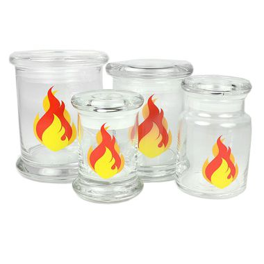 420 Classic Pop Top Jar Fire