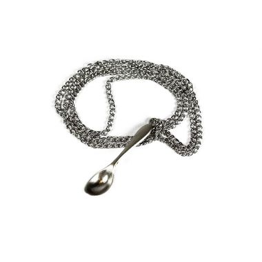 Luxury Snuff Spoon On Chain