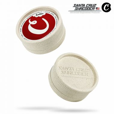 Santa Cruz Shredder 55mm 2-Part Hemp Grinder