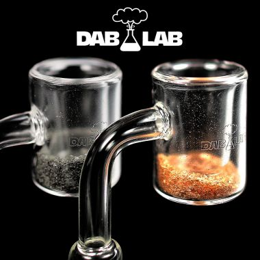 Dab Lab Thermal Quartz Banger with Sand Bucket