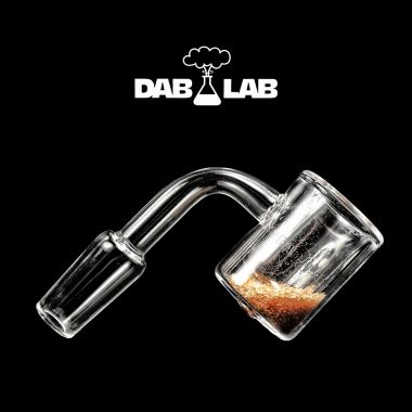 Dab Lab Thermal Quartz Banger with Sand Bucket - 14.5mm Male