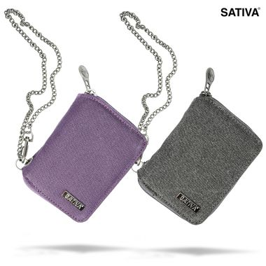 Sativa Hemp Wallet with Chain