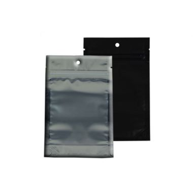 Mylar Bags - 1 gram (Black Back)