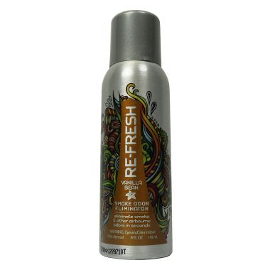 Re-Fresh Smoke Odor Eliminator - Vanilla Bean