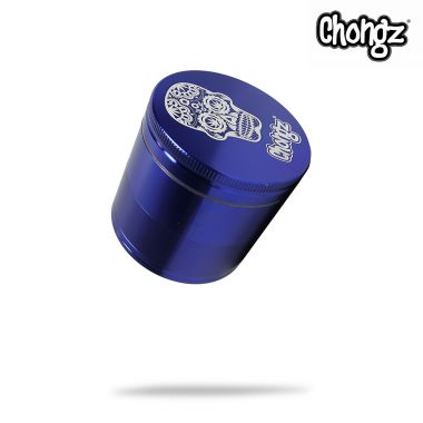 Chongz 'Tom Cruzer' 56mm 4-Part Sifter Grinder - Blue