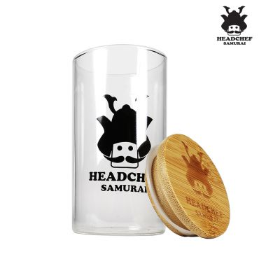 Headchef Samurai Glass Jar - Large