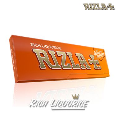 Rizla Liquorice Coated Regular