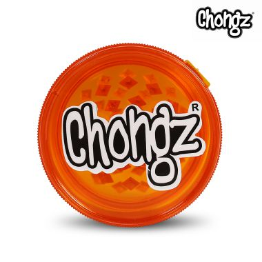 Chongz Plastic 60mm 3 Part Grinder - Orange