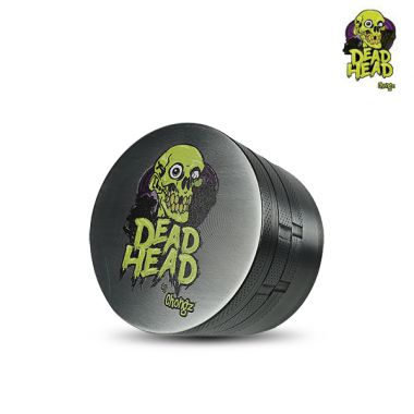 Dead Head by Chongz 60mm 4-Part Sifter Grinder - Silver