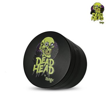 Dead Head by Chongz 60mm 4-Part Sifter Grinder - Black