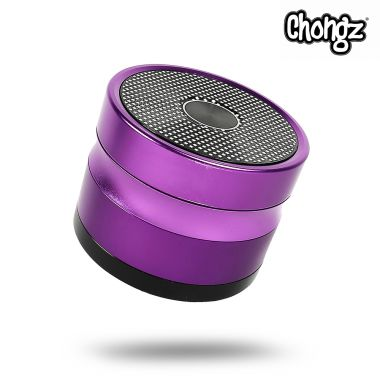 Chongz 'Now Zen' 60mm 4-Part Sifter Grinder - Purple