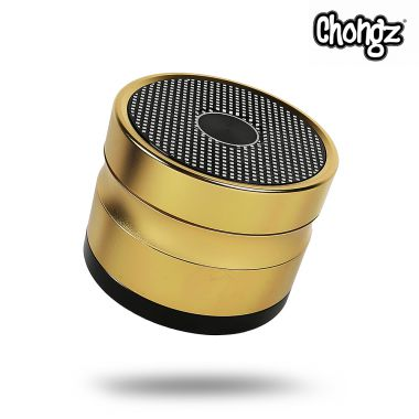 Chongz 'Now Zen' 60mm 4-Part Sifter Grinder - Gold