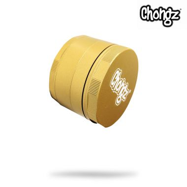 Chongz 60mm 'Katana' Ceramic Coated Non Stick Sifter Grinder - Gold