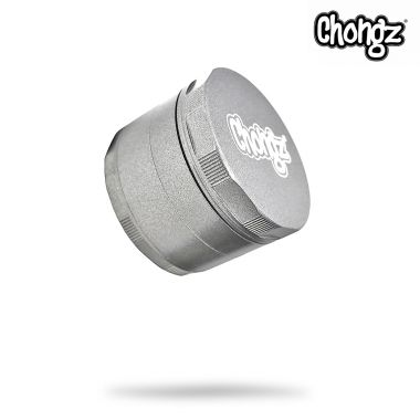 Chongz 60mm 'Katana' Ceramic Coated Non Stick Sifter Grinder - Silver