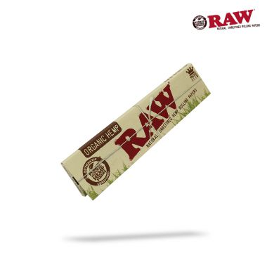 RAW Organic Unbleached Kingsize Slim Papers