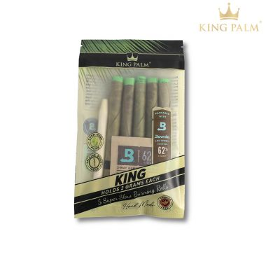 King Palm Organic Pre-Rolled Leaf - King 2g (5 Pack)