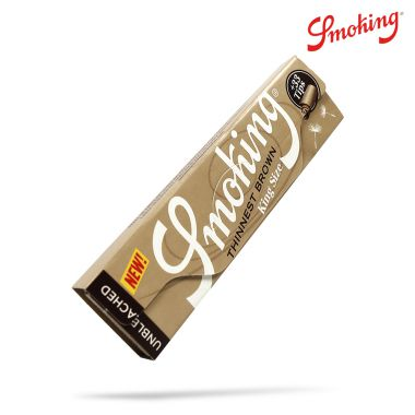 Smoking Brown Thinnest Kingsize Slim Connoisseurs - Single Packet