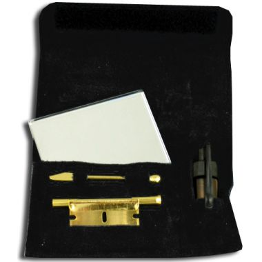 Mirror Snuff Kit (Gold)