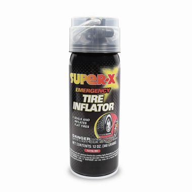Super-X Emergency Tire Inflator Stash Can