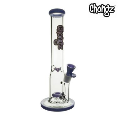 Chongz 'Stinky Toes' 40cm Glass Percolator Bong - Purple