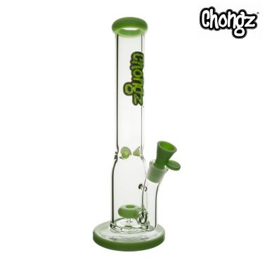 Chongz 'Stinky Toes' 40cm Glass Percolator Bong - Green