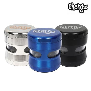 Chongz 'Marbles' 50mm 4-Part Sifter Grinder