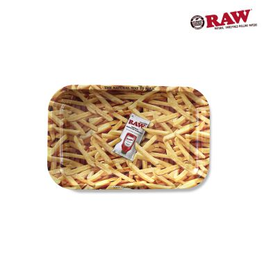 RAW French Fries Metal Rolling Tray (Small)