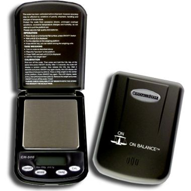 Champion 500g Digital Pocket Scales - Black