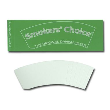 Smokers' Choice Green - Eco Filter Tips
