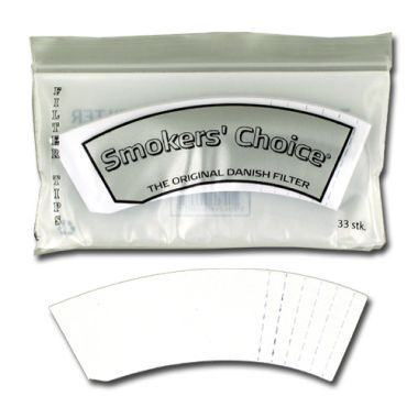 Smokers' Choice Clear - Filter Tips