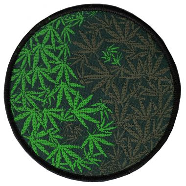 Hemp Yin-Yang Patch