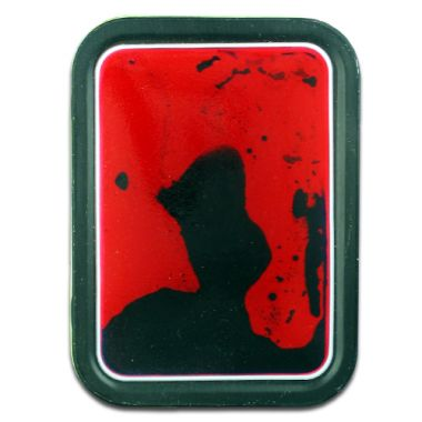Squidgy Rorschach 2oz Tobacco Tin - Red/Black
