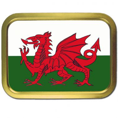 2oz Flag Tins - Welsh Flag