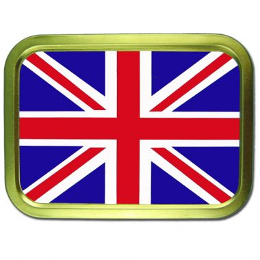 2oz Flag Tins - British Flag