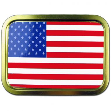 2oz Flag Tins - USA Flag