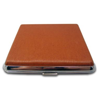Faux Leather Cigarette Case