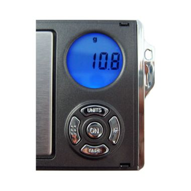 Rad Digital Mini Scale RA Series - Gun Metal 300g x0.1g